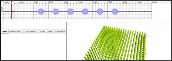 FDTD - Photonic Crystal Layout