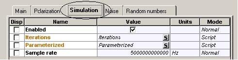 Optical System - Figure 18 CW Laser Array parameters2