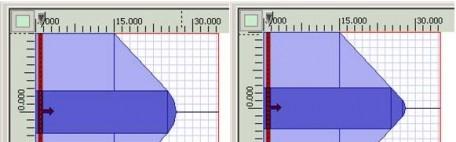 SMF28 fiber lens (a) R=6 µm; (b) R=2.4µm