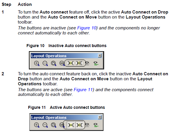 Optical System Turning the Auto connect feature off and on