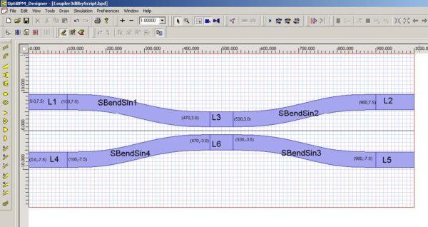 BPM - Figure 4 Lesson6_3db_coupler.BPD file