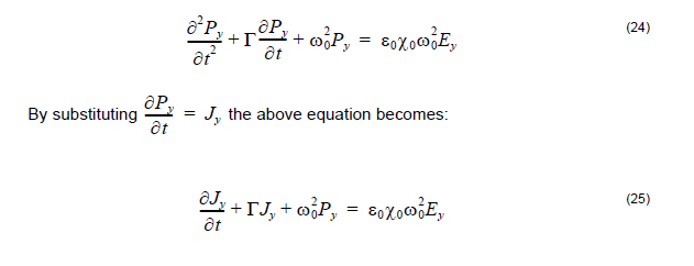FDTD - equation 24 and 25