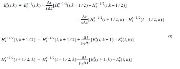 FDTD - equation 3