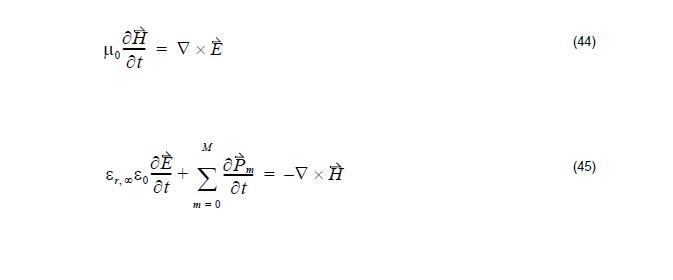 FDTD - equations 44 - 45