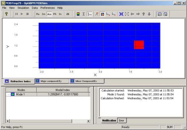 FDTD - Figure 26 3D Mode Solver
