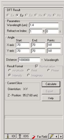 FDTD - Figure 58 Far Field tab