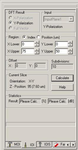 FDTD - Figure 54 IOI tab