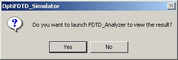 FDTD - Figure 47 Message box