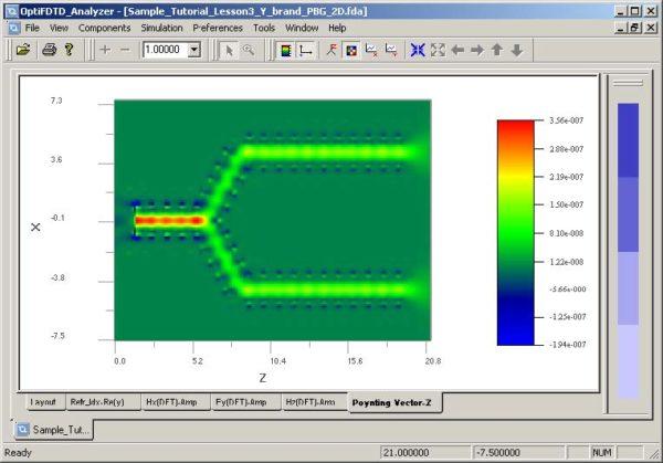 FDTD - Figure 98 OptiFDTD Analyzer