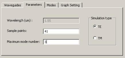 FDTD - Figure 76 Parameters tab