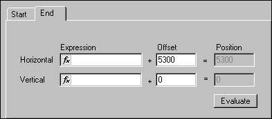 BPM - Figure 12 End offset values — second waveguide