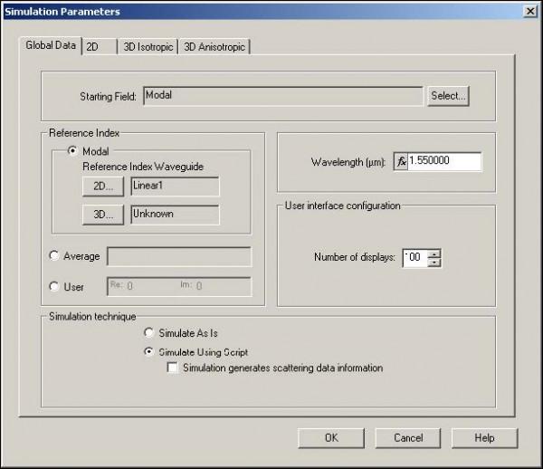 BPM - Figure 12 Global Data tab—Simulate Using Script