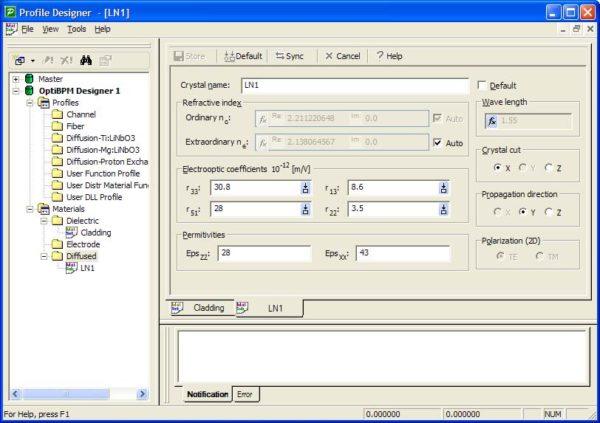 BPM - Figure 2 Profile Designer — LN1