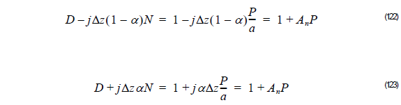 Optical BPM - Equation 122 - 123