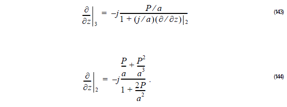 Optical BPM - Equation 143 - 144