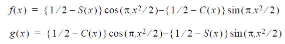 Optical Grating - formulae