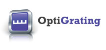 optical grating logo